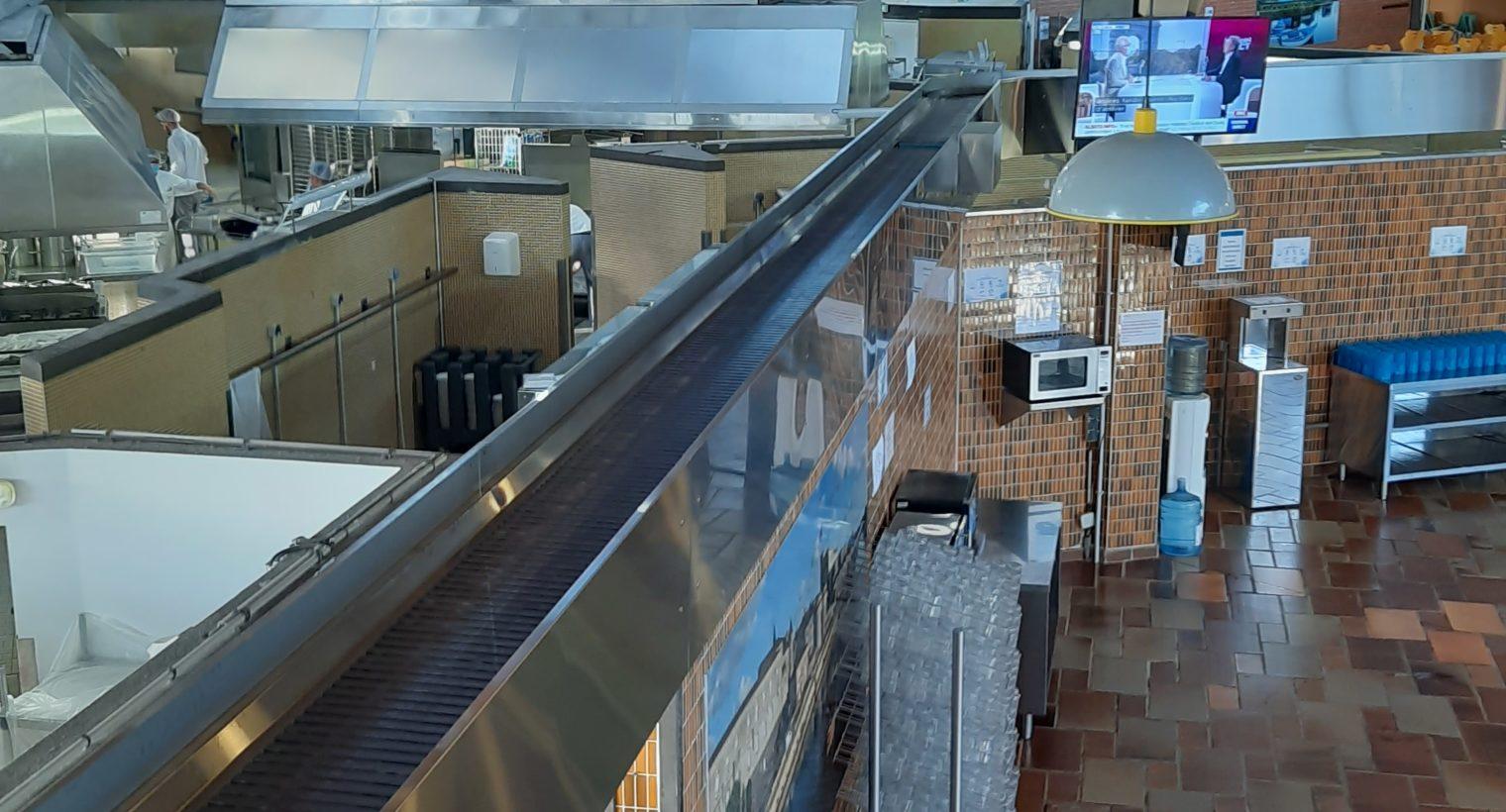 Rochefort : 2 Cafétérias 1 laverie de vaisselle