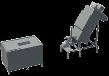Tratamiento de residuos alimentarios Biodec Séparé Para triturar, centrifugar, comprimir y tratar los resi- duos alimentarios, pero desde varios puntos de recogida hacia una unidad central de recuperación.